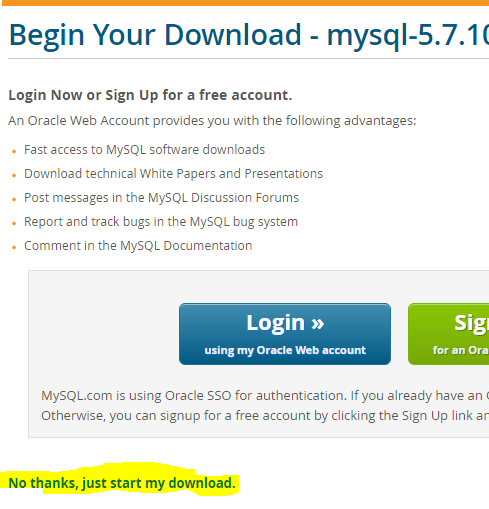 Download without account
